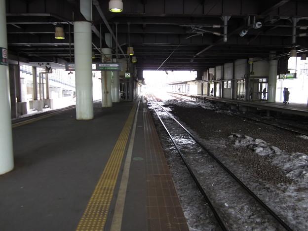 北広島駅ホーム3