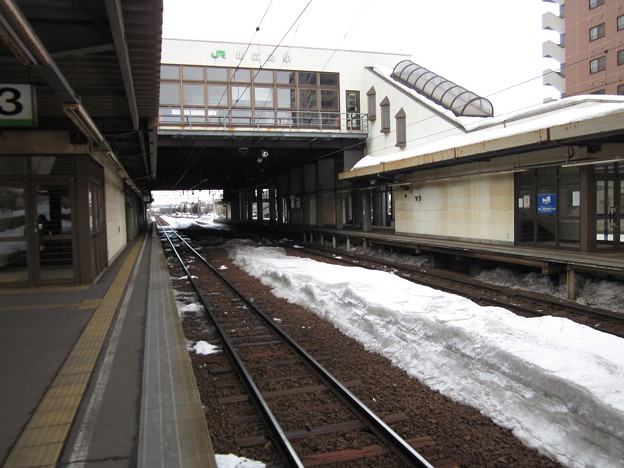 北広島駅ホーム4