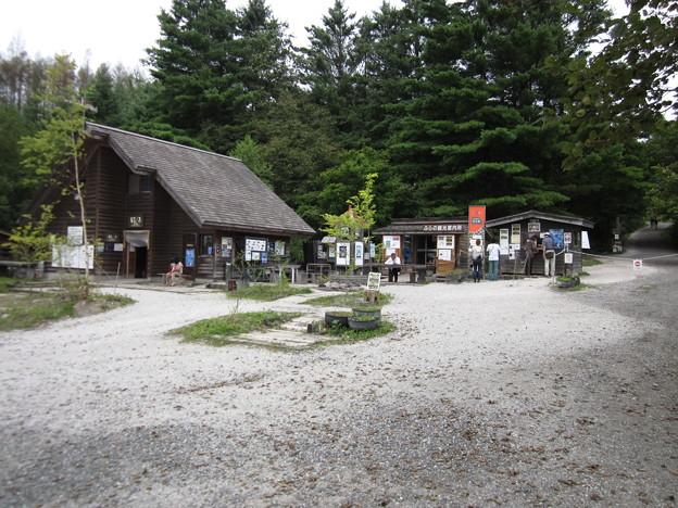 五郎の石の家、見学コース入口