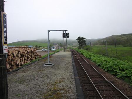 西様似駅1