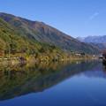 Photos: 阿寺渓谷と木曽川の合流