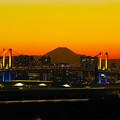 Photos: レインボーブリッジと富士山