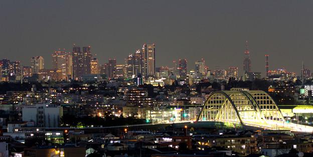 新宿と多摩水道橋