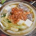 写真: 菊川キムチ鍋