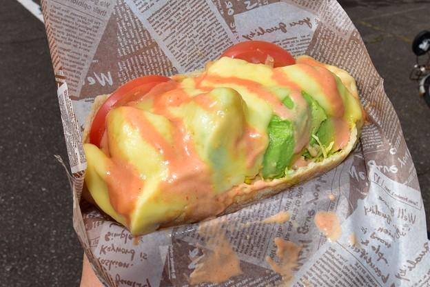 写真: チーズアボカドケバブ1