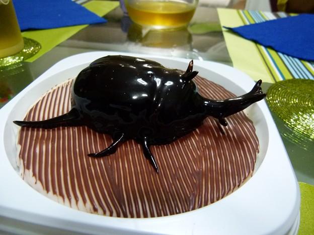 カブト虫ケーキ