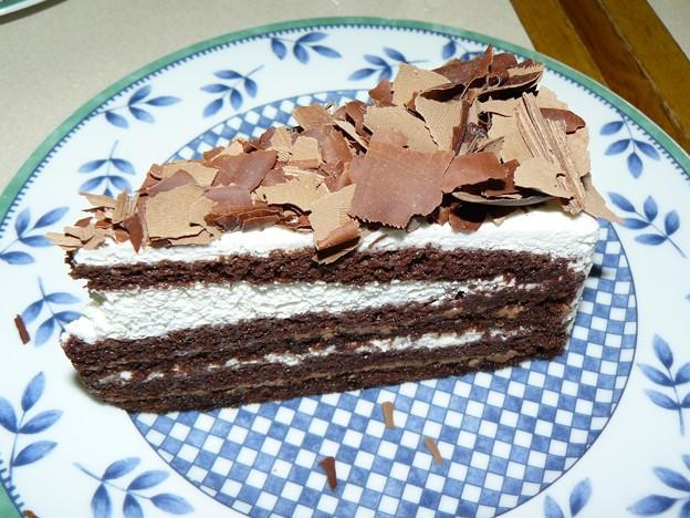 写真: チョコレートトルテ