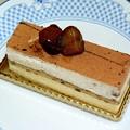 写真: マロンケーキ