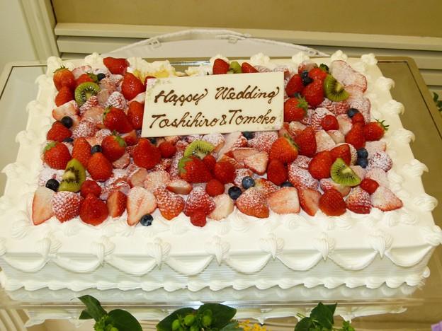 Photos: 久保さんウェディングケーキ