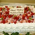 写真: 久保さんウェディングケーキ