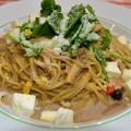 写真: 武蔵小杉ポルチーニ茸とチーズのパスタ