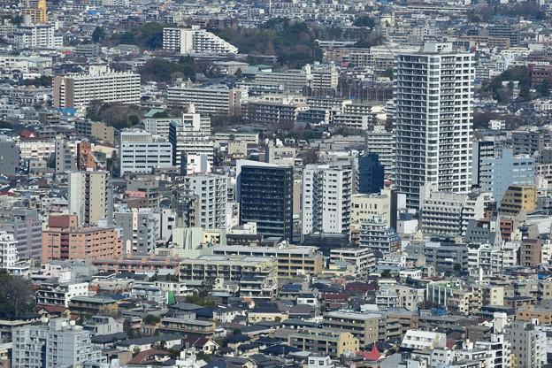 都庁から東中野