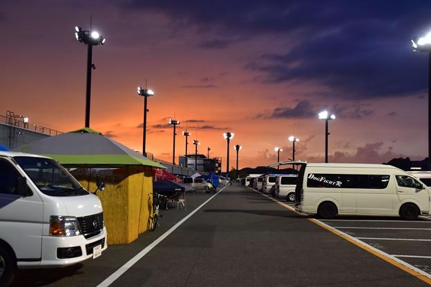 Photos: もてぎの夕日