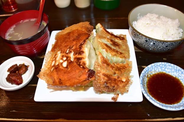 藤井屋チーズ餃子定食