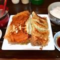 Photos: 藤井屋チーズ餃子定食