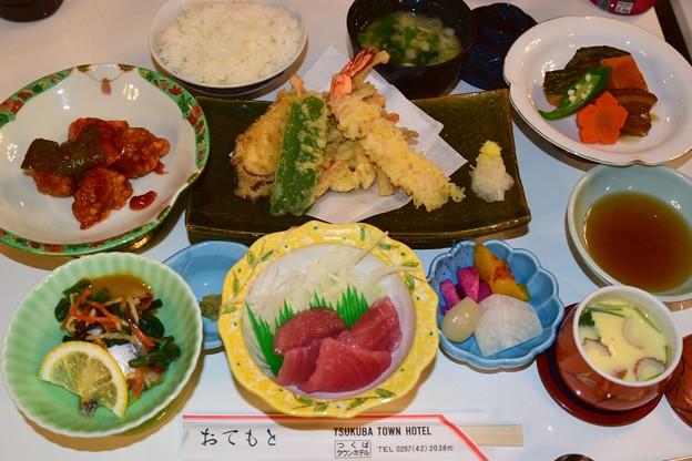 筑波タウンホテル夕食