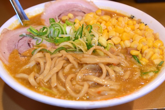 ごっつコーンカレー極太麺