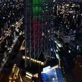 2108東京スカイツリーオリンピックライトアップ