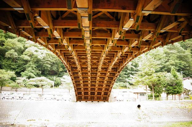 2012-08奈良井宿の木曽の大橋 (4)