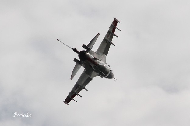 F-2急旋回