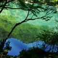 写真: 湖面