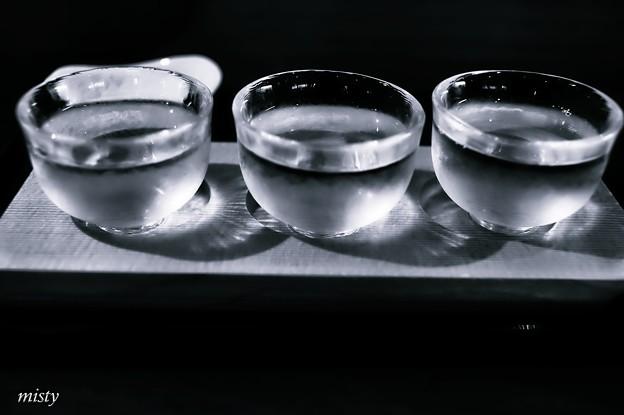 写真: 三重地酒飲み比べ