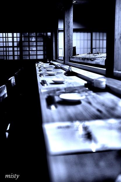 寿司屋にて#1