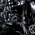 写真: C62 つばめ機関室