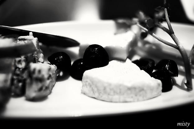 チーズ&オリーブ