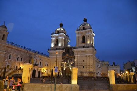 サン・フランシスコ教会、中ではミサが行われてました