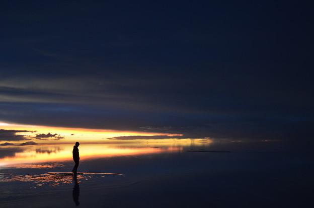ウユニの夜景