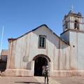 写真: アタカマの教会