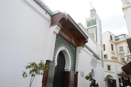 フェズのメディナ内にあるモスク