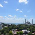 Photos: カフェの屋上からブルーモスク