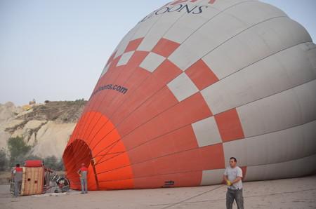 気球、実はかなりでかい