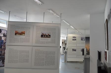 壁博物館、膨大なパネル