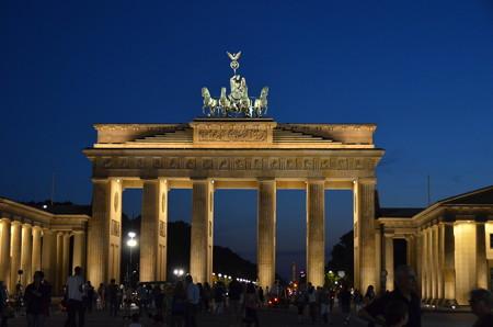 統一ドイツの象徴、ブランデンブルグ門