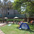 Photos: 郊外にある安宿Jungle Junction。キャンプサイトもあって気持ちいい