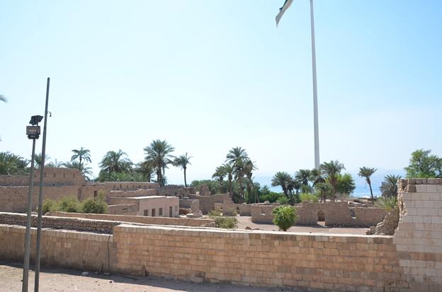 写真: アカバ要塞。