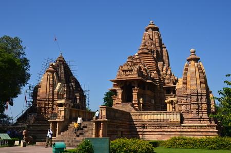 ラクシュマナ寺院。保存状態はよい