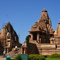 写真: ラクシュマナ寺院。保存状態はよい