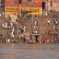 Photos: ガンガーの沐浴光景