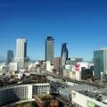 写真: 愛知大学 新名古屋キャンパスから見える景色:名駅ビル群