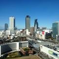 写真: 愛知大学 新名古屋キャンパスから見える景色:名駅ビル群 - 2