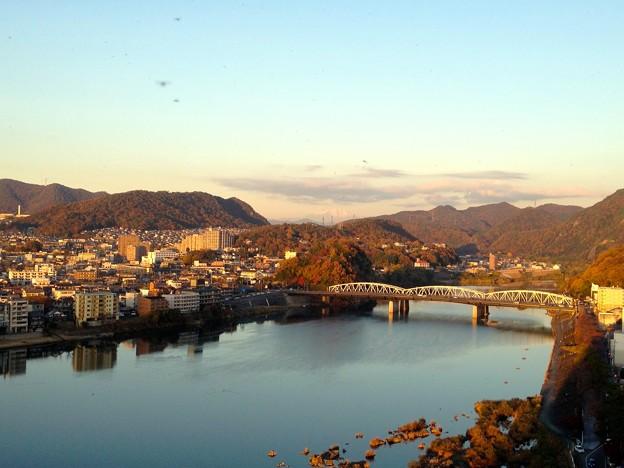 犬山城:天守閣最上階からの眺め - 13