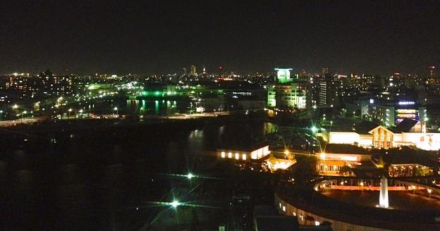 写真: 名古屋港シートレインランド:大観覧車から見た夜景 - 09