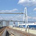 写真: 金城ふ頭駅ホームから見た名港トリトン