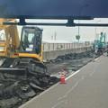 写真: 舗装工事中の名古屋高速小牧線 - 5