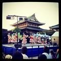 写真: 御坊夏まつり 2012:子供たちによるフラダンス
