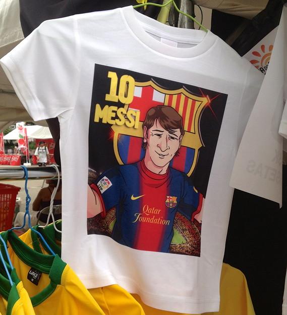 ブラジルDay 名古屋 2013 - 21:メッシのTシャツ